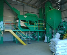Stationary Seed Cleaning Plant 2