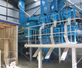 Stationary Seed Cleaning Plant